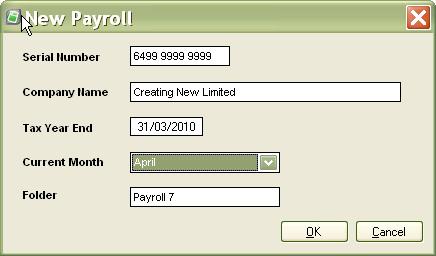 New Payroll